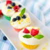 Colorful Chocolate Cups with White Chocolate Mousse