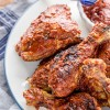 Brined Barbecue Chicken