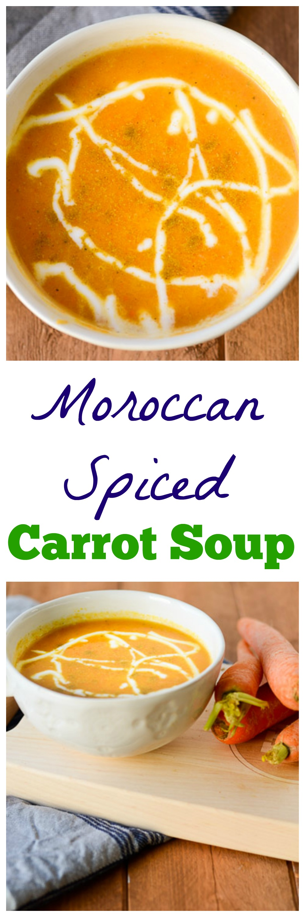 Moroccan Spiced Carrot Soup - Ready to Yumble