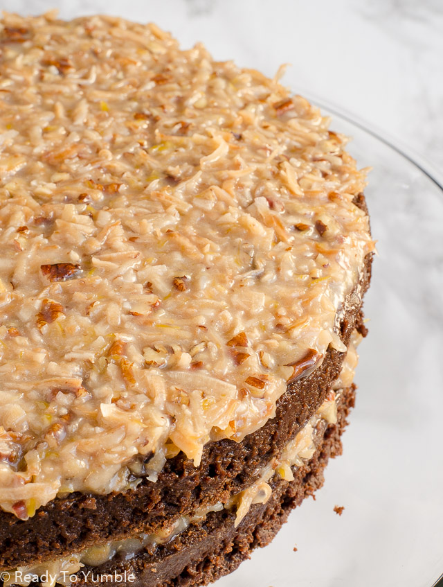Give Me A Recipe For German Chocolate Cake