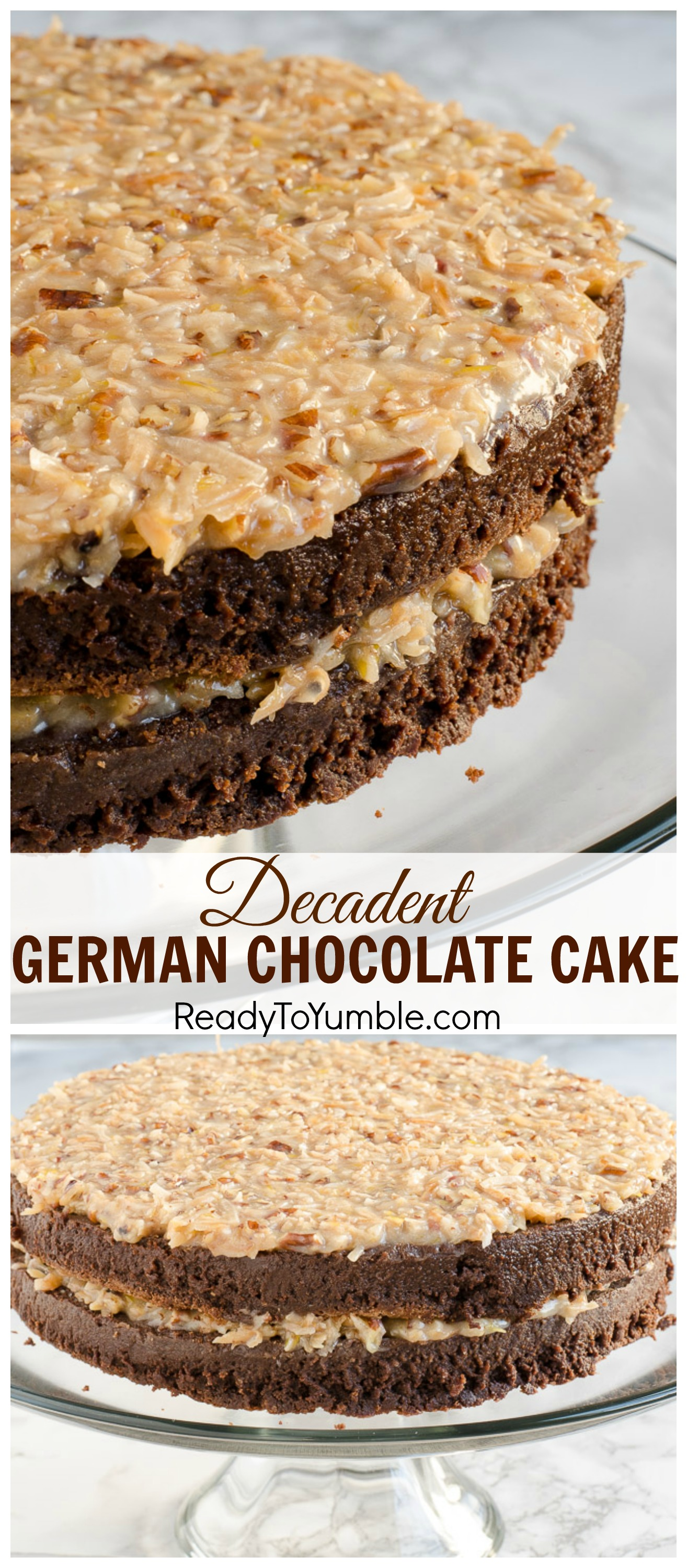 decadent chocolate cake decadent german chocolate cake ready to yumble 3329